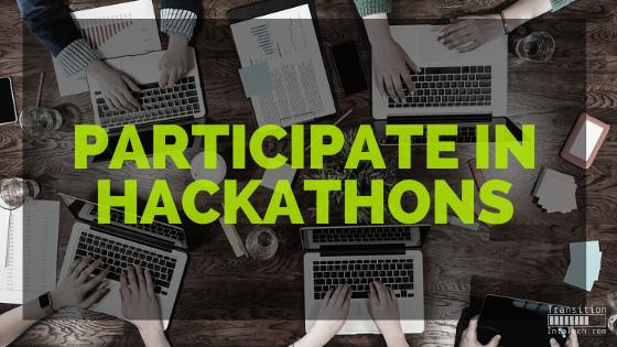 Participate in hackarthons